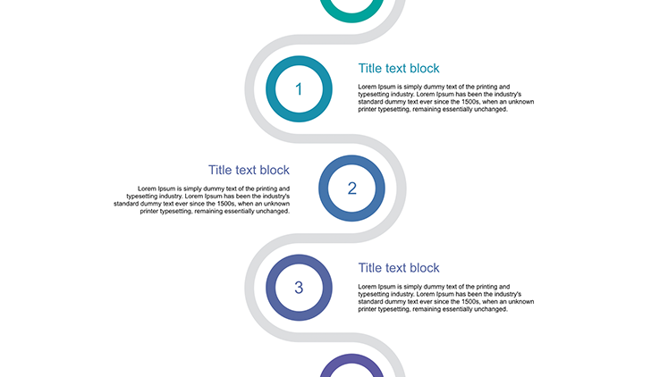 Clean Professional Vertical Layout for ppt