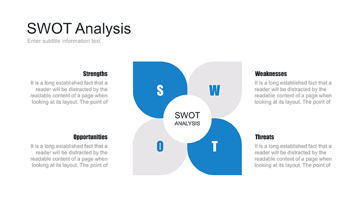 PowerPoint SWOT template free
