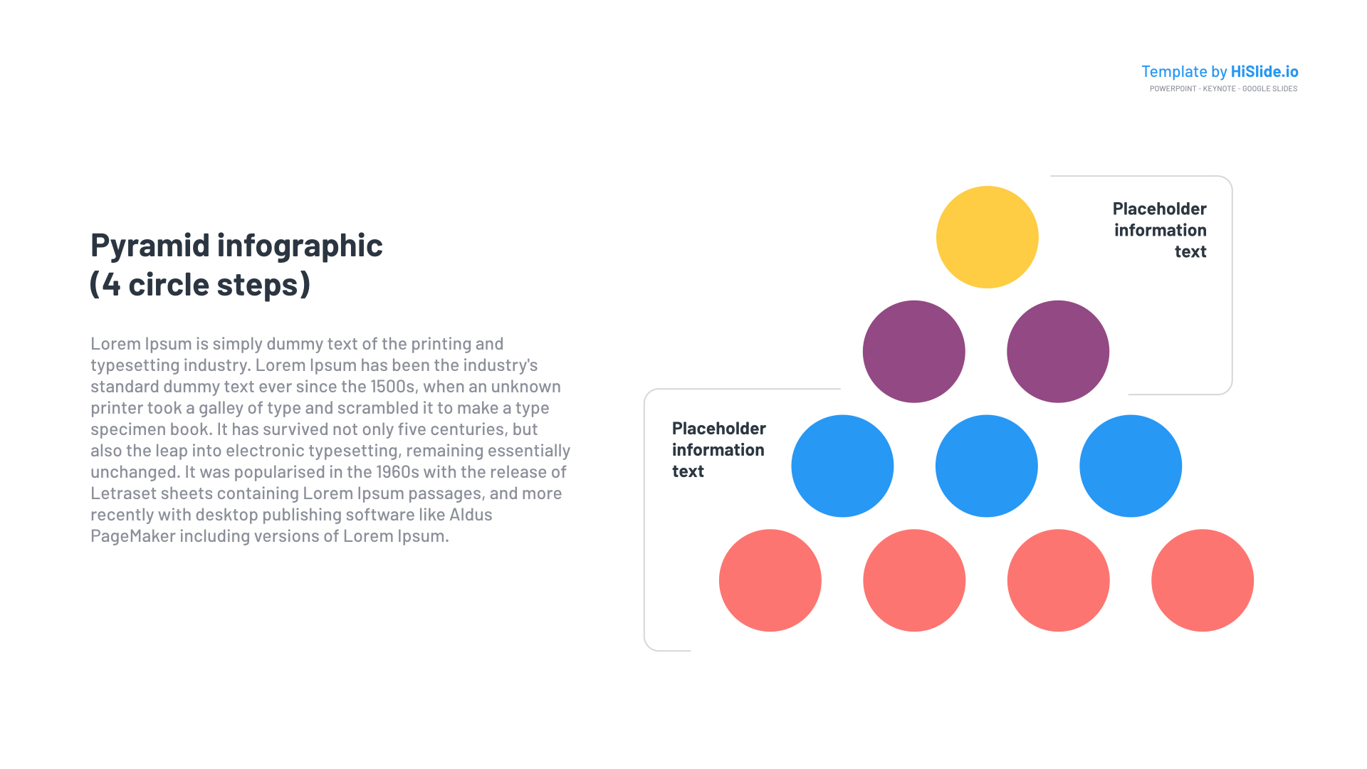 Free Pyramid PowerPoint template