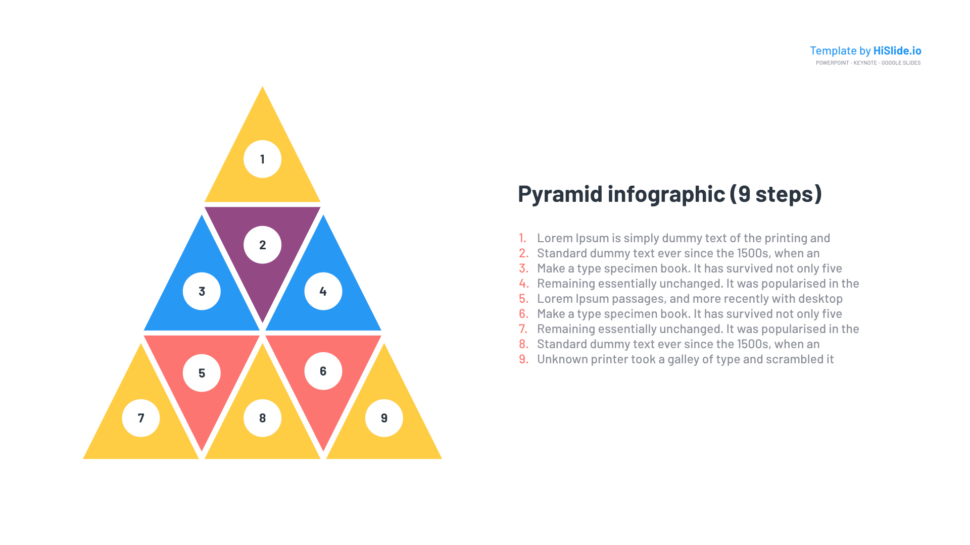Free Pyramid Graphics for PowerPoint