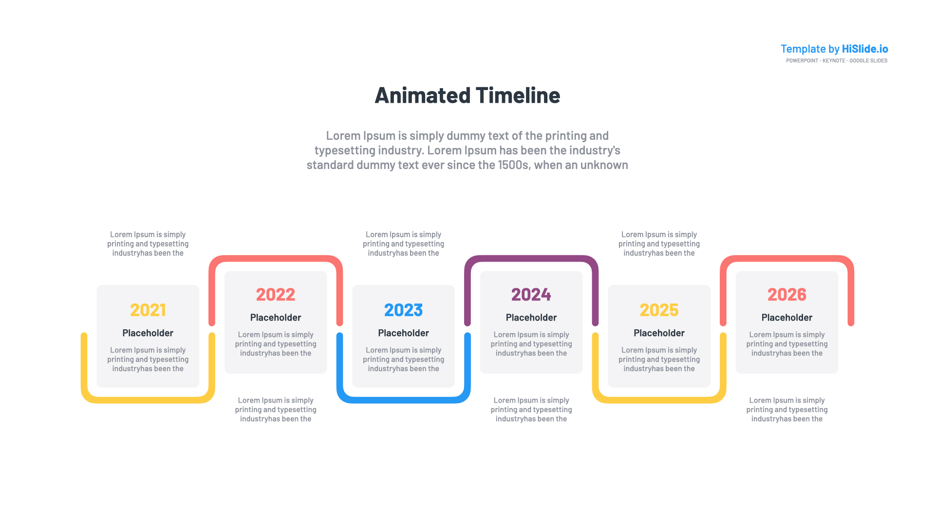 Animated Timeline Powerpoint Template Free from hislides-az0pg5xoql0a2.netdna-ssl.com