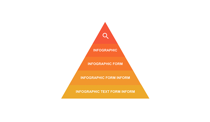 Pyramid with 5 segments PPT