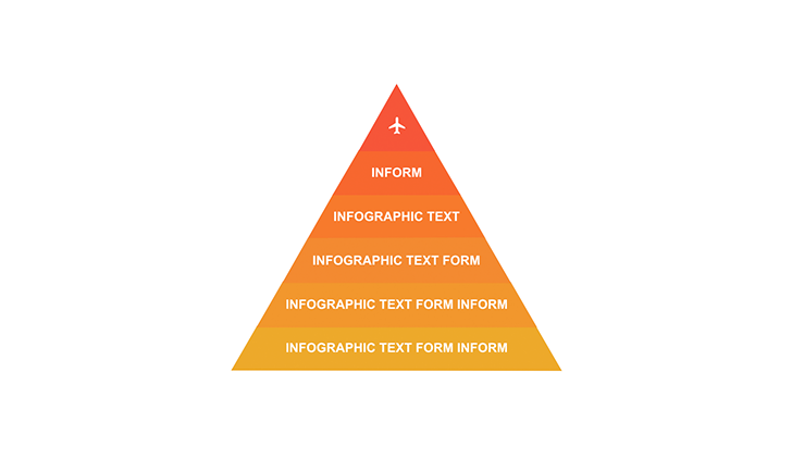 Pyramid with 6 segments PPT