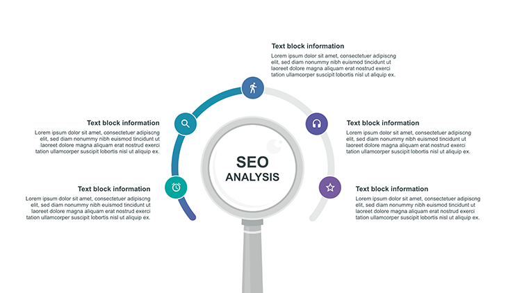 SEO analysis infographic PPT step 4