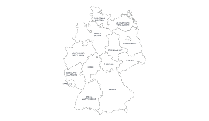 Germany PowerPoint map