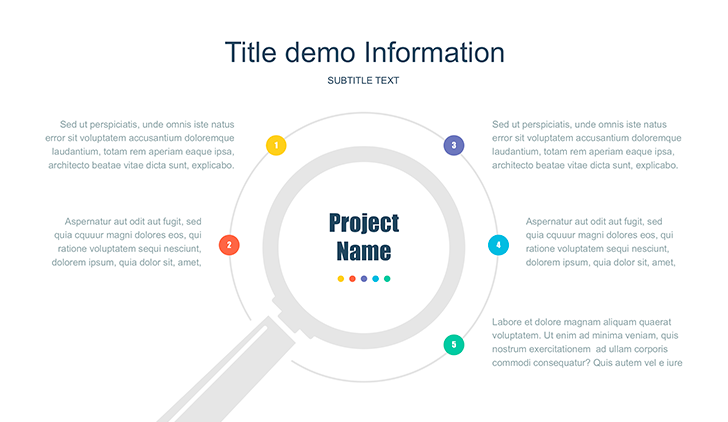 Infographic template free Google Slides