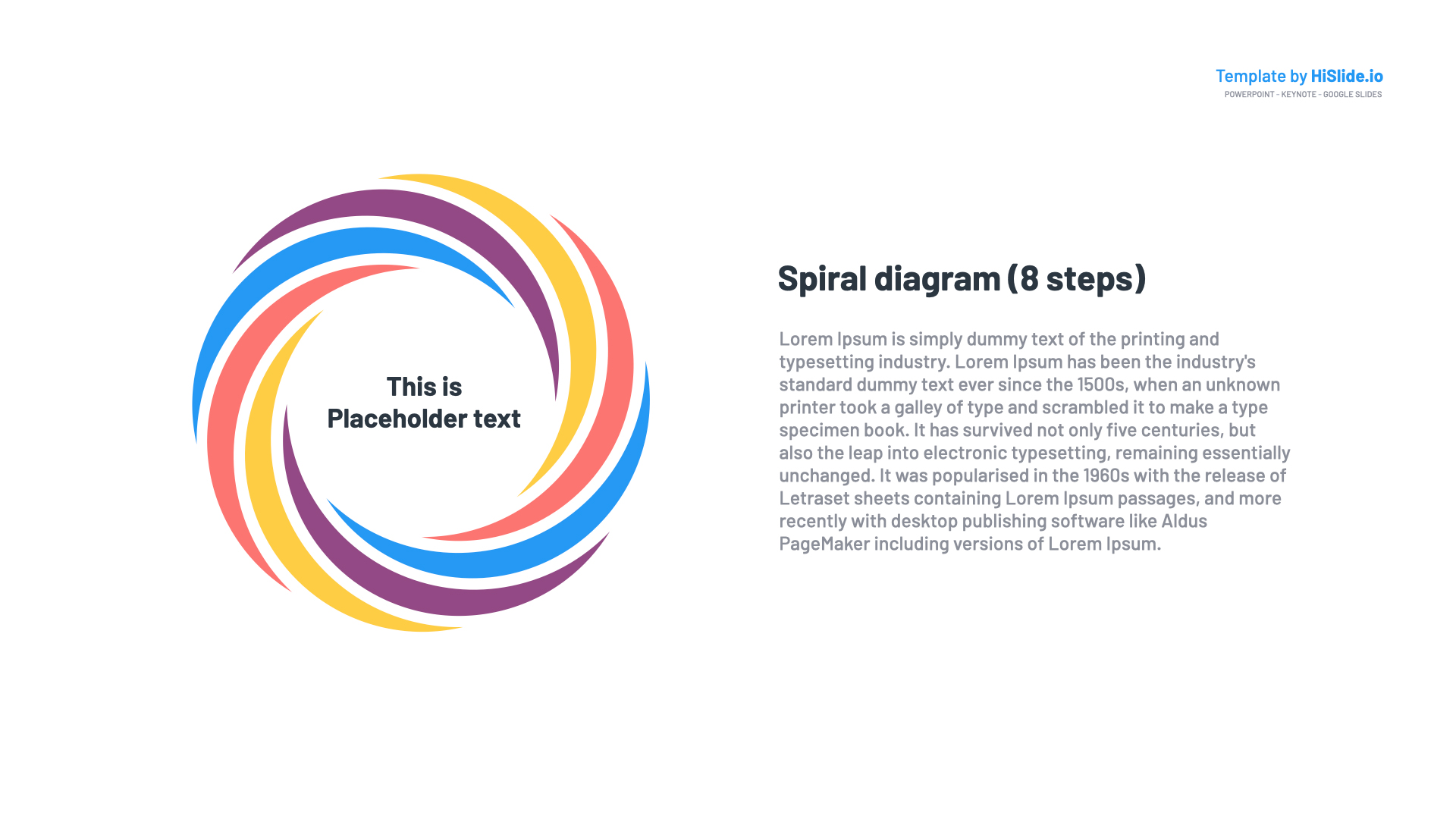 Free Download Spiral clipart for Google Slides