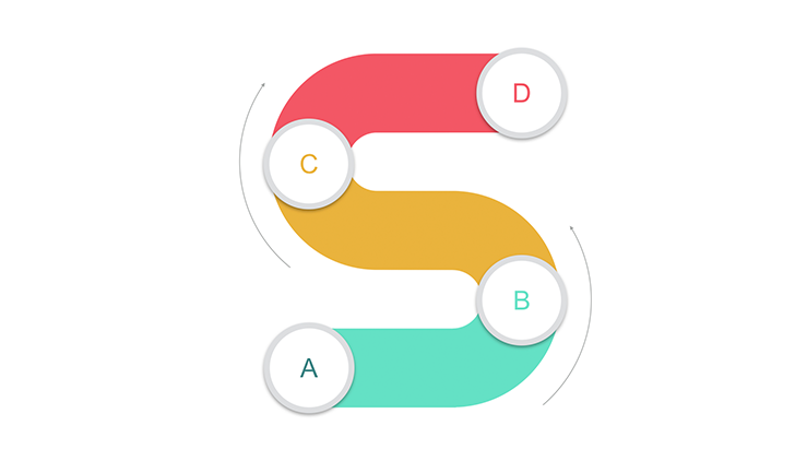 S type 4 step for Keynote