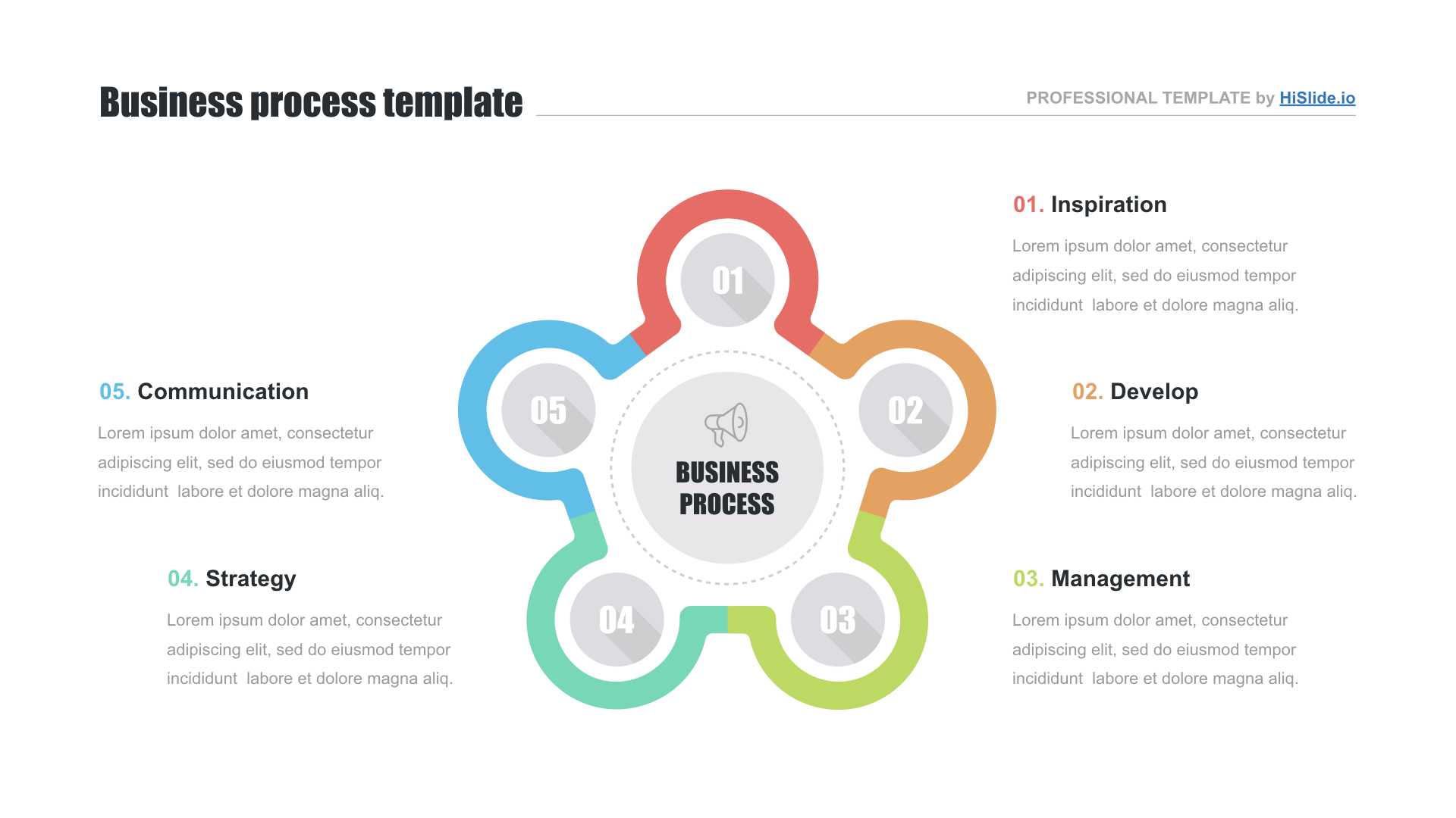 Infographic Keynote template free