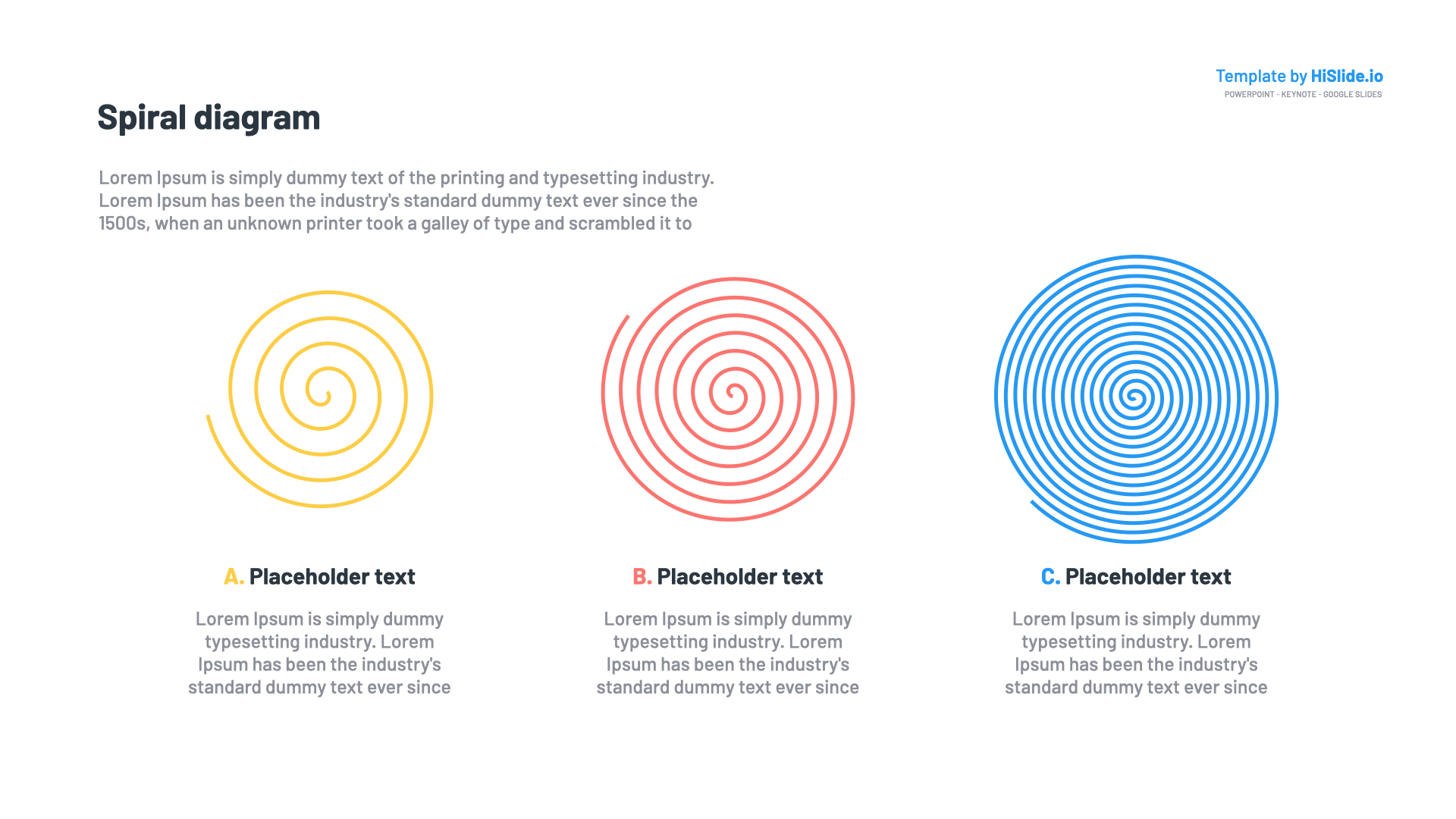 Spiral Template for Keynote Presentation