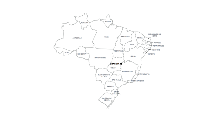 map of Brazil for Keynote