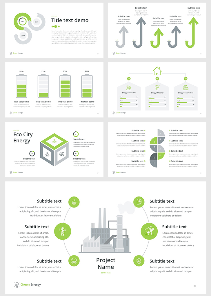 Green Energy PowerPoint Template - Download Now!