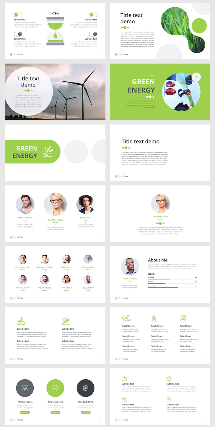 Green-Energy -PowerPoint-Template