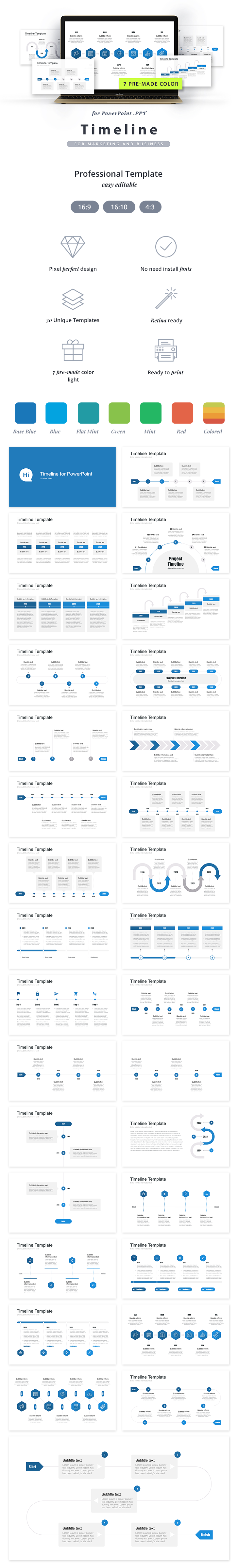 powerpoint-timeline-template