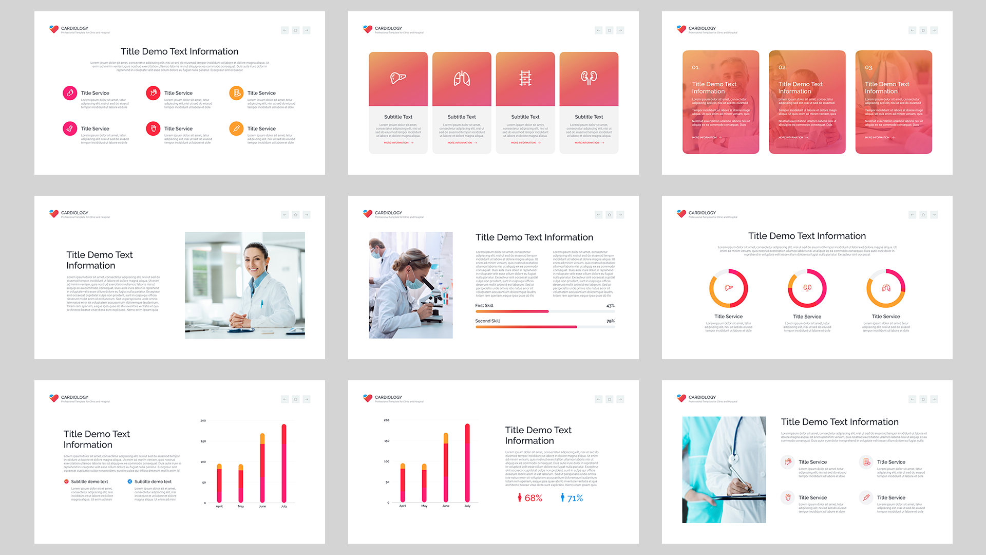 Cardiology PowerPoint template
