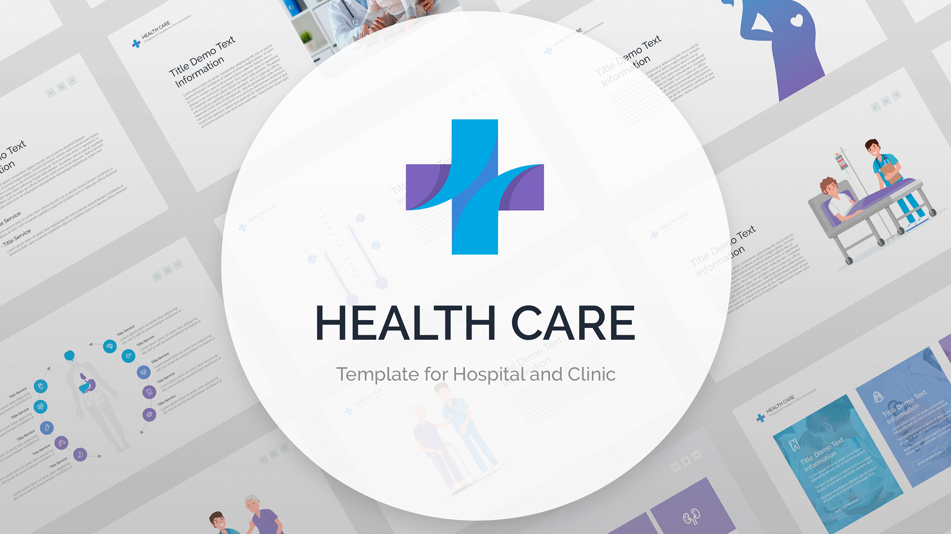 Health Care presentation PowerPoint template