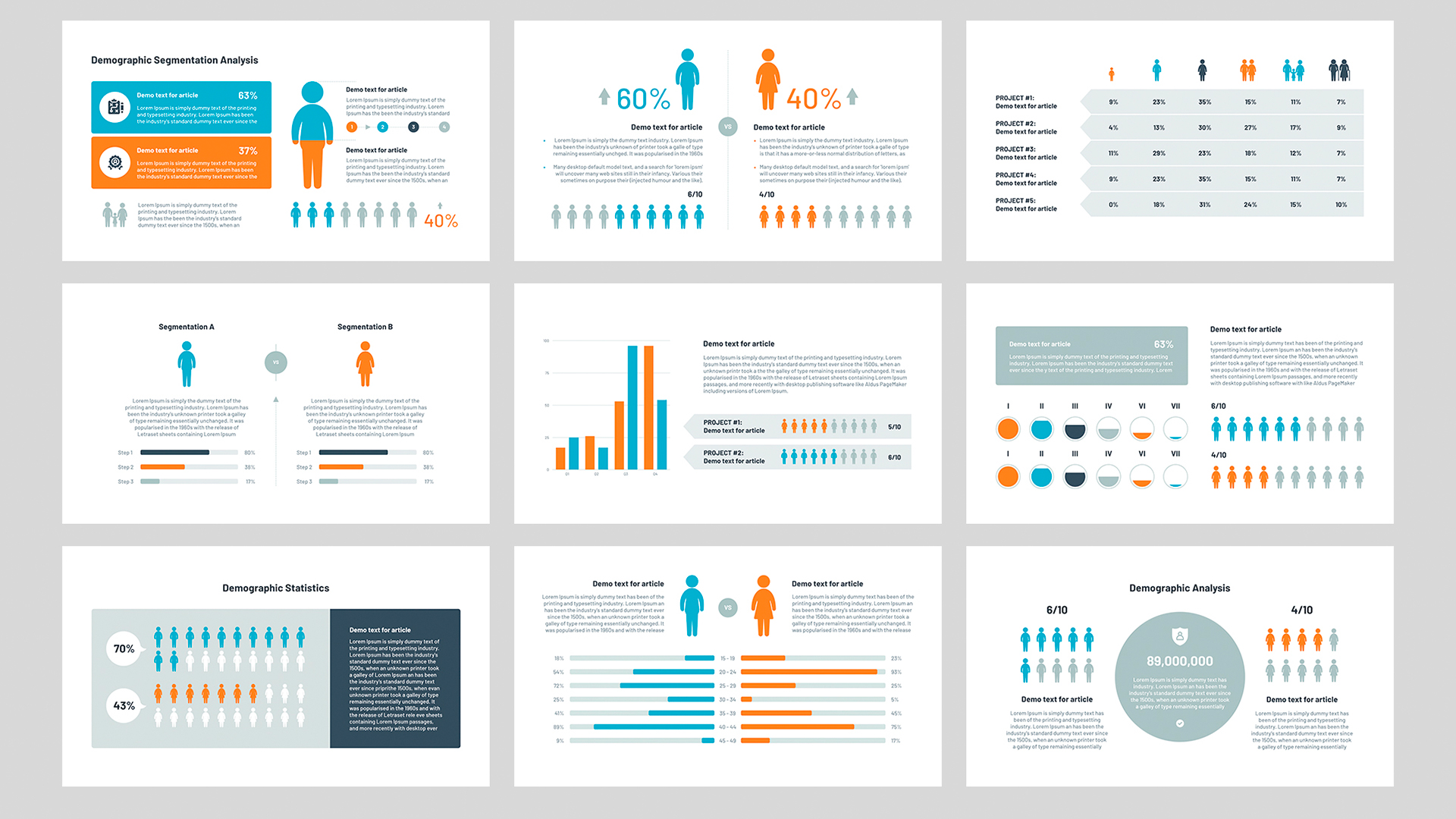 PowerPoint Audience template