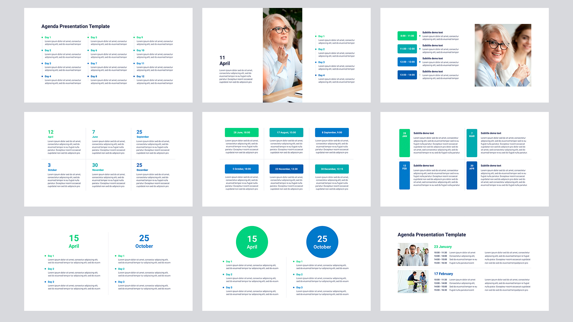 Business Agenda template PowerPoint - Download Now!