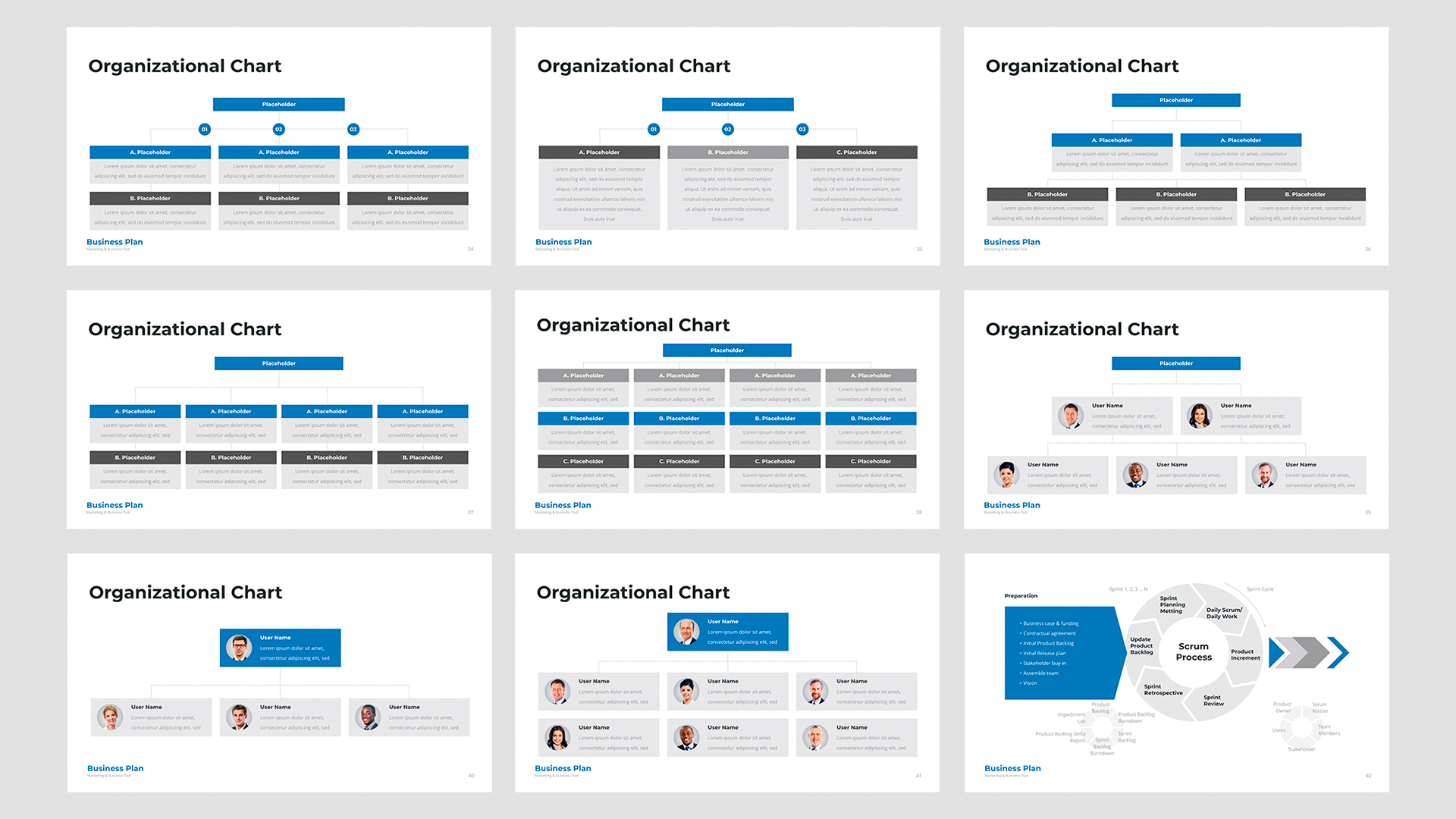 Powerpoint business template 2020