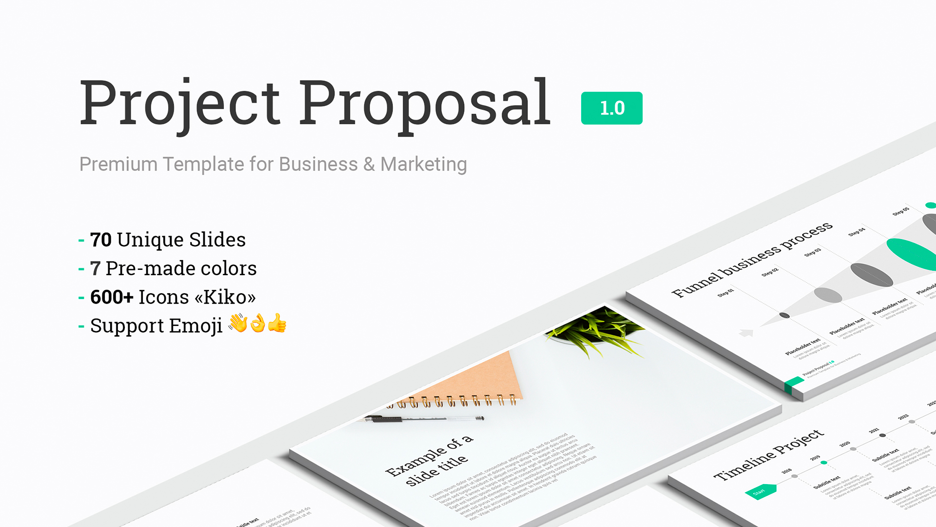Google slides presentation for Project Proposal