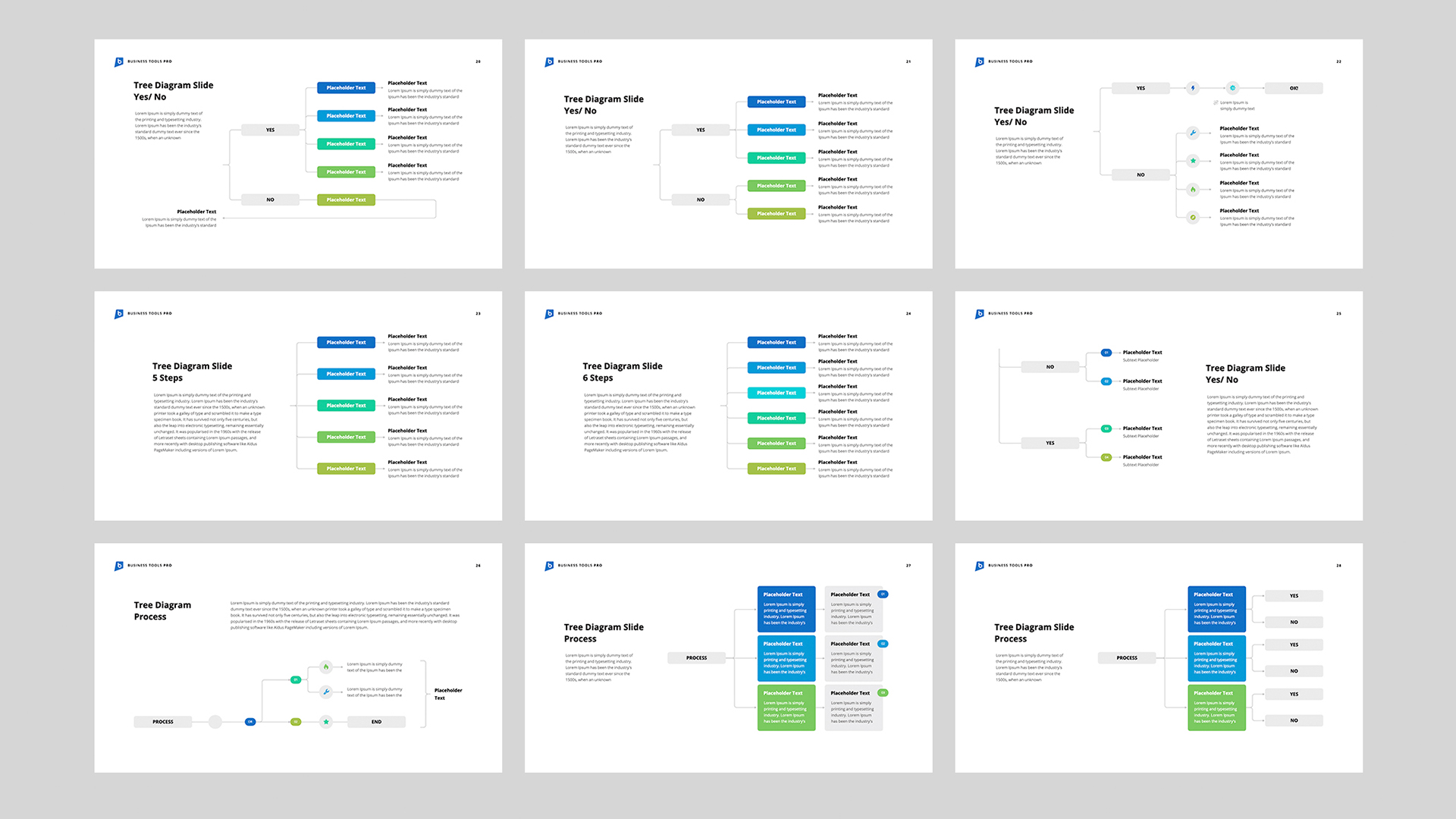 Tree Diagram Templates for Google Slides - Download Now!