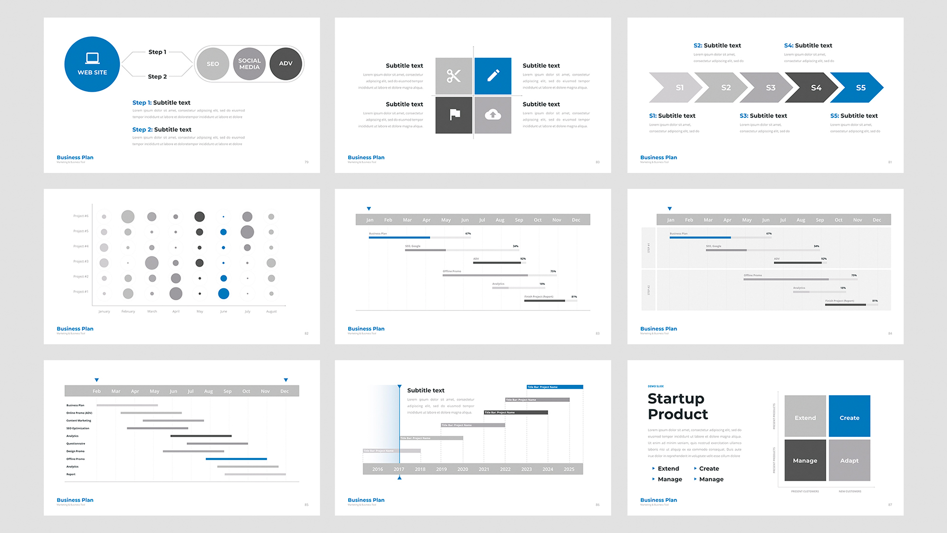 Keynote Business template 2020