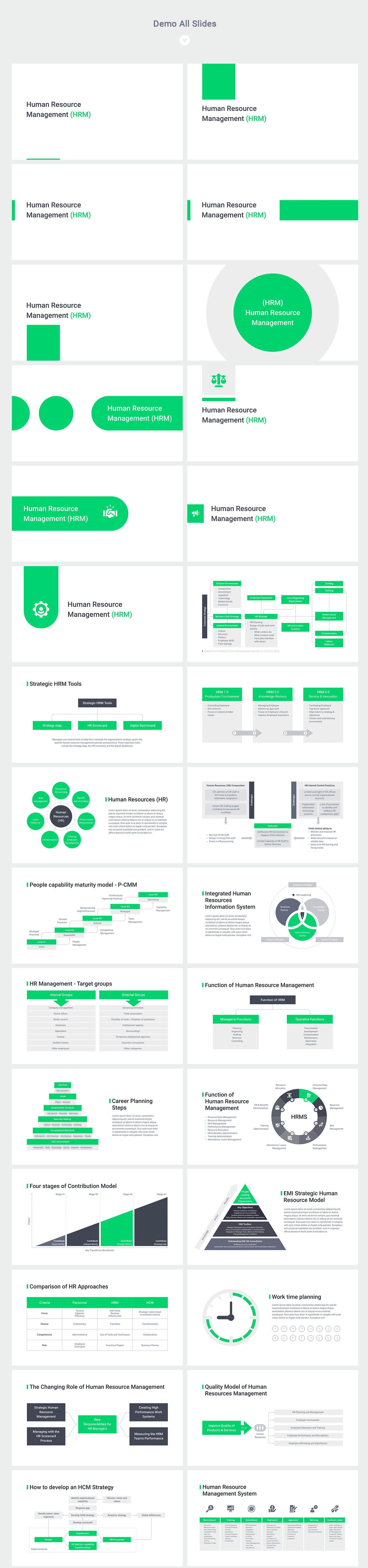 keynote human resources template