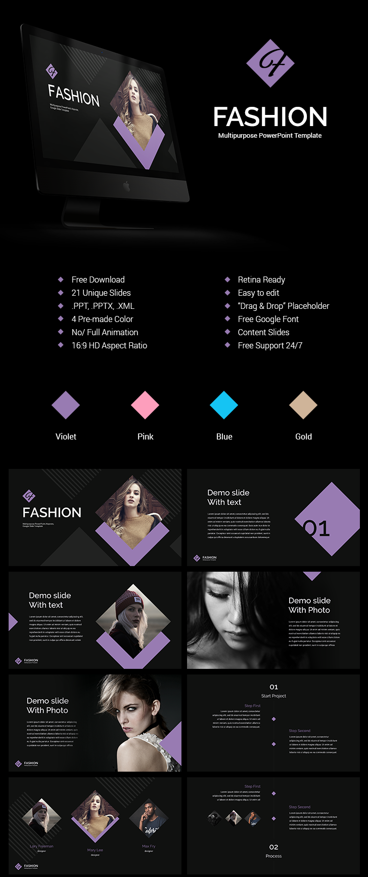 Fashion-powerpoint-templates