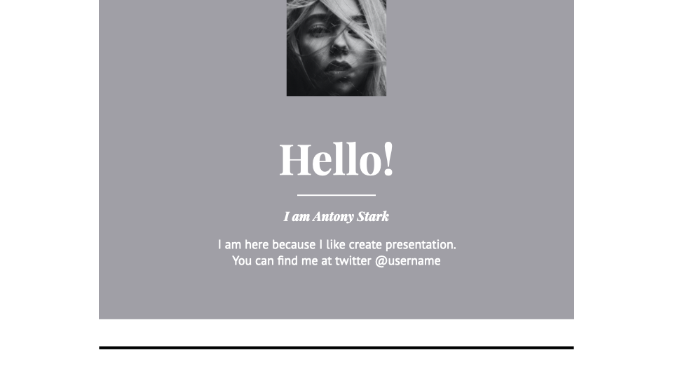 Hebe PowerPoint Template