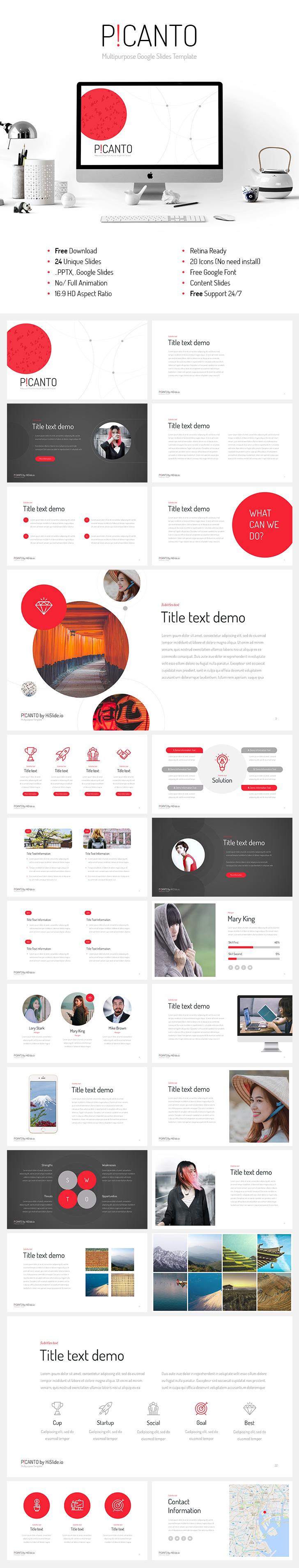 559e155c8 Picanto Google Slides template free download - Free Support 24 7!