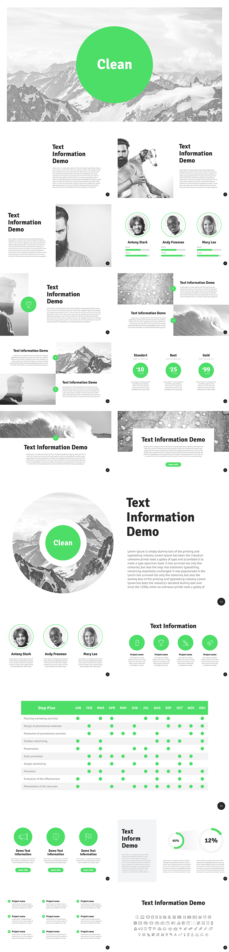company presentation template free download