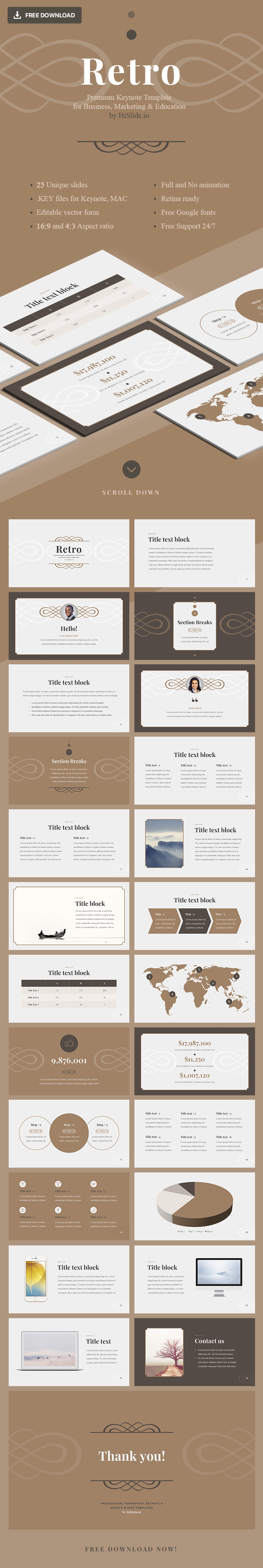 free-retro-templates-for-keynote